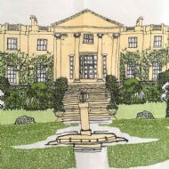Danielle Morgan 'Hillsborough Castle' Tea Towel